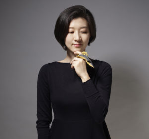 Yong Joo Kim and her Wearable Art ring