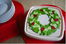 Velcro Brand Holiday Craft DIY Container
