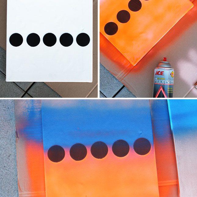 Polka Dot Art Step 1