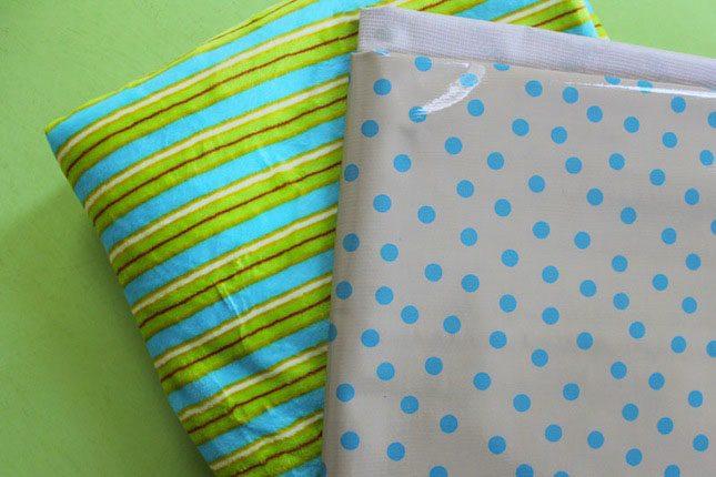 Fabric Picnic Blanket Brit Velcro