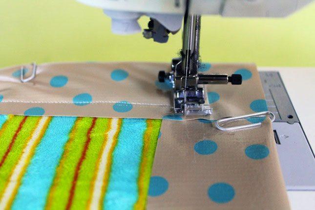Sew Blanket Directions Brit Velcro