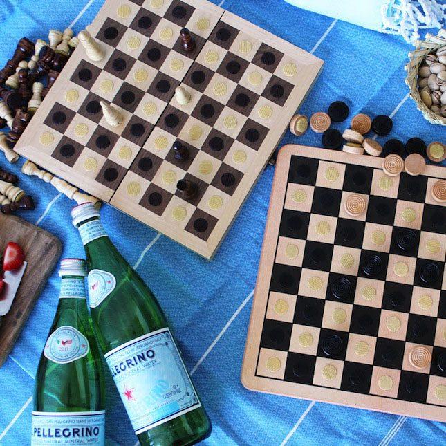 Picnic Chess DIY Brit Morin VELCRO® Brand