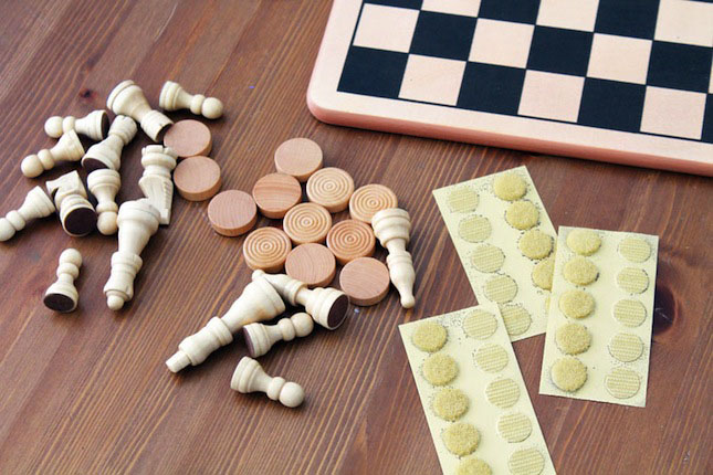 Sticky Back™ Coins Chess Pieces DIY