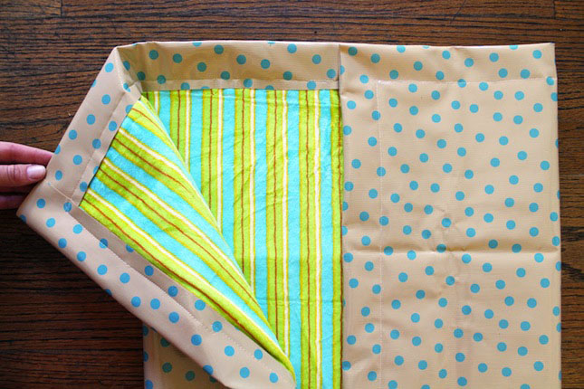 Complete Blanket DIY Project Brit Velcro