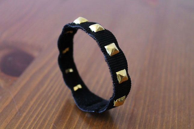Studded Bracelet DIY One-Wrap® Straps