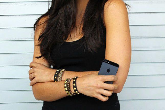 Brit Morin VELCRO® Brand Bracelet