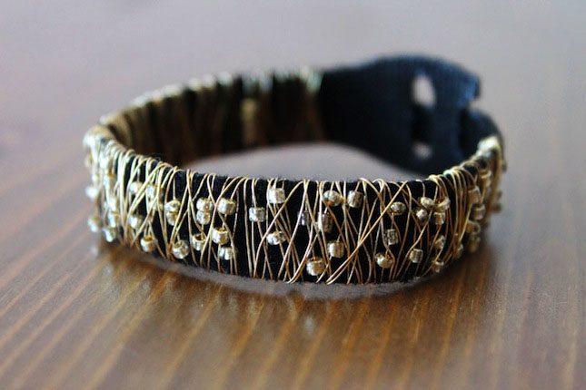Beaded Bracelet Brit Morin VELCRO®Brand