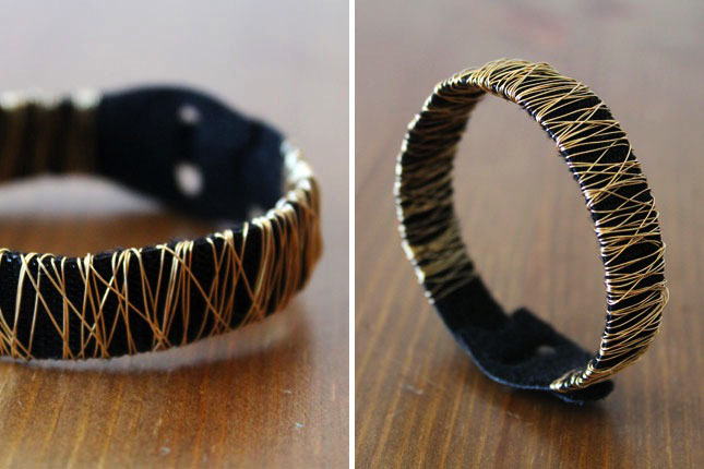 Wire Bracelet How To Brit Morin