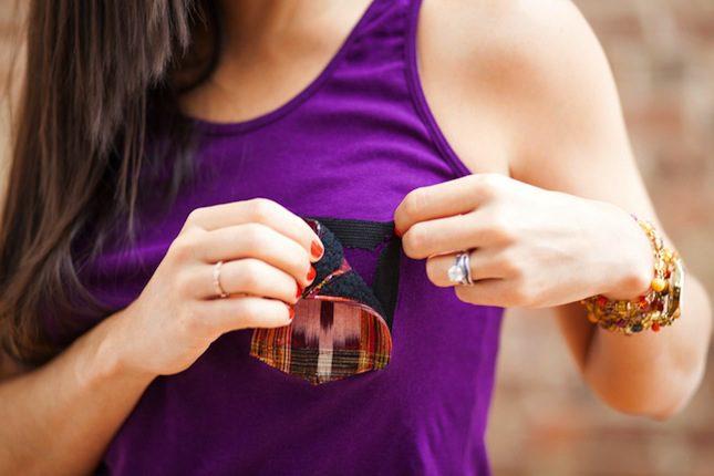 VELCRO® Brand Pocket DIY Project Brit Morin