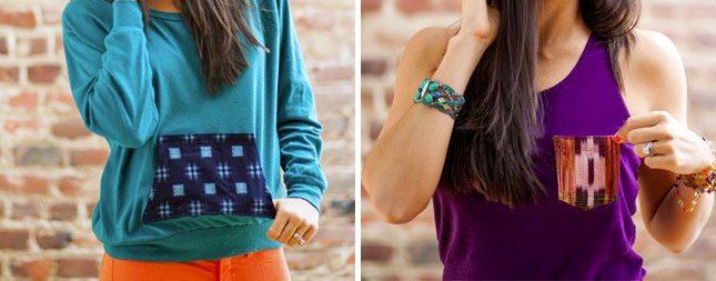 diy interchangeable stylish pockets