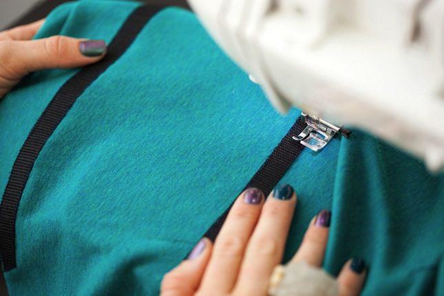 VELCRO® Brand Tape Sew Pocket