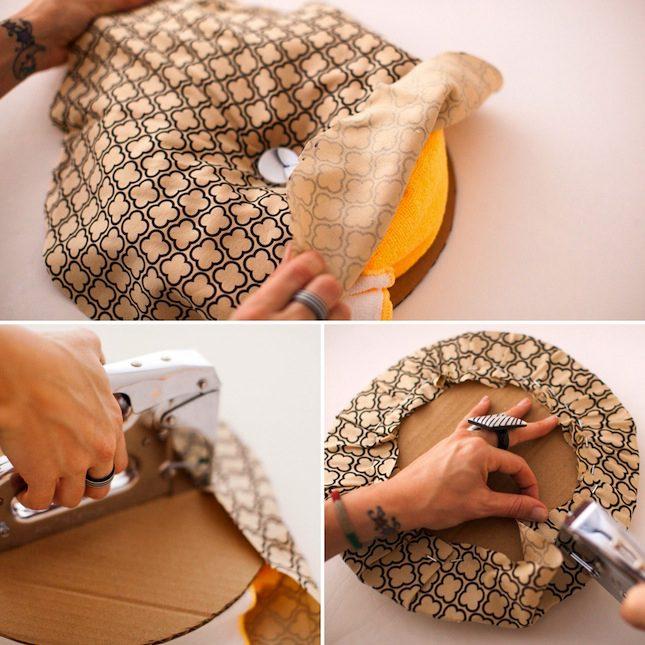 DIY Ottoman Brit VELCRO® Brand