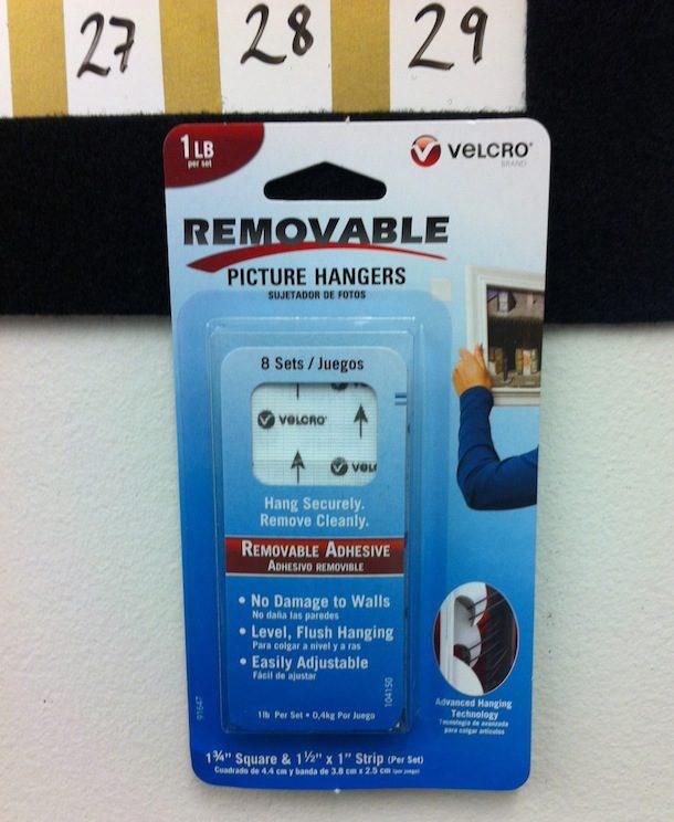 VELCRO® Brand Wall Calendar DIY