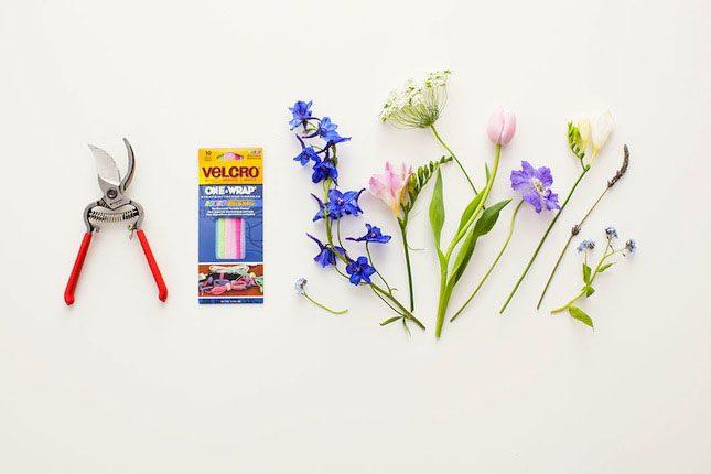 Bouquet_Velcro_Brand_Brit_DIY_Materials