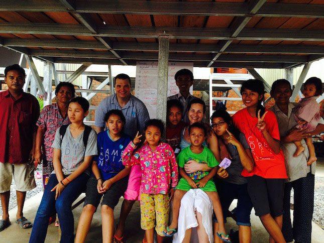 Velcro Industries Cambodian Children's Fund Group Kids