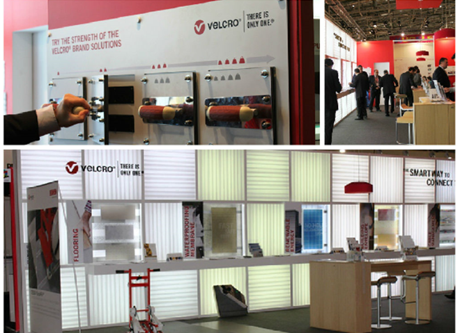 VELCRO® Brand Showcases Innovative Solutions at the 2015 BAU Trade Show