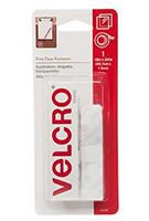 VELCRO® Brand Thin Clear Fasteners