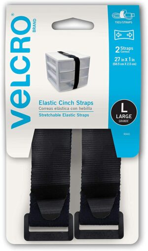 90441 Elastic cinch strap with buckle