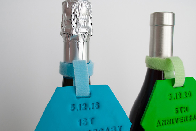 diy wedding gift wine