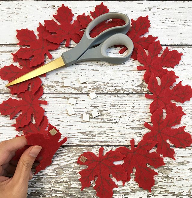 DIY Autumn Leaves Placemat with Sabrina Soto