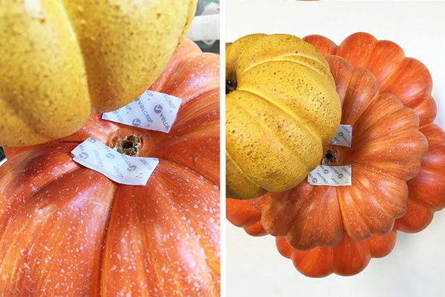 DIY Stacked Pumpkins with Sabrina Soto and VELCRO® Brand Industrial Strength Strips