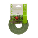 VELCRO Brand Garden Ties support tomato flower and vegetable plant stems and vines