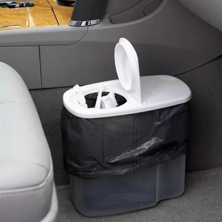 road trip hack make your own diy trash bin