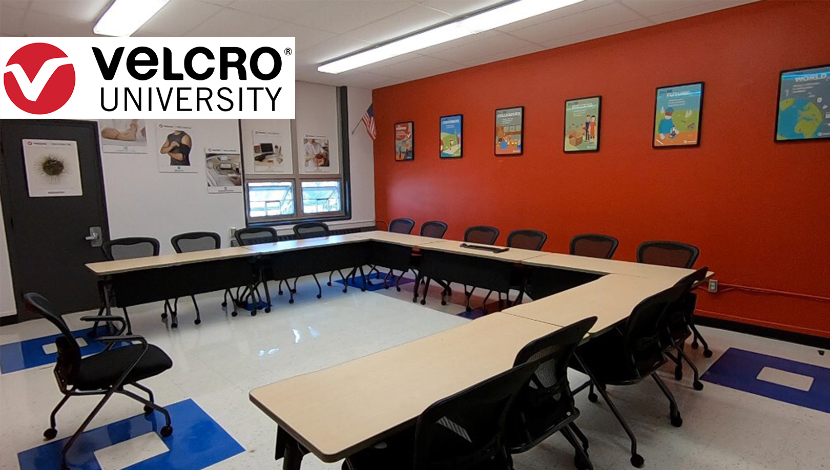 Velcro University Classroom