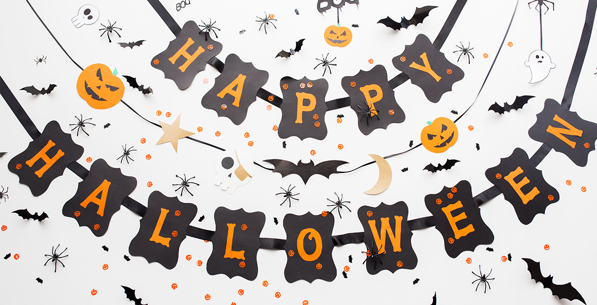 How To Hang Halloween Decorations Without Damaging The Walls