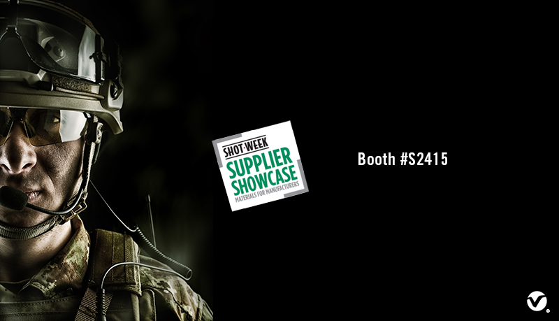 The VELCRO® Brand Military Solutions team exhibits at the SHOT Show Supplier Showcase