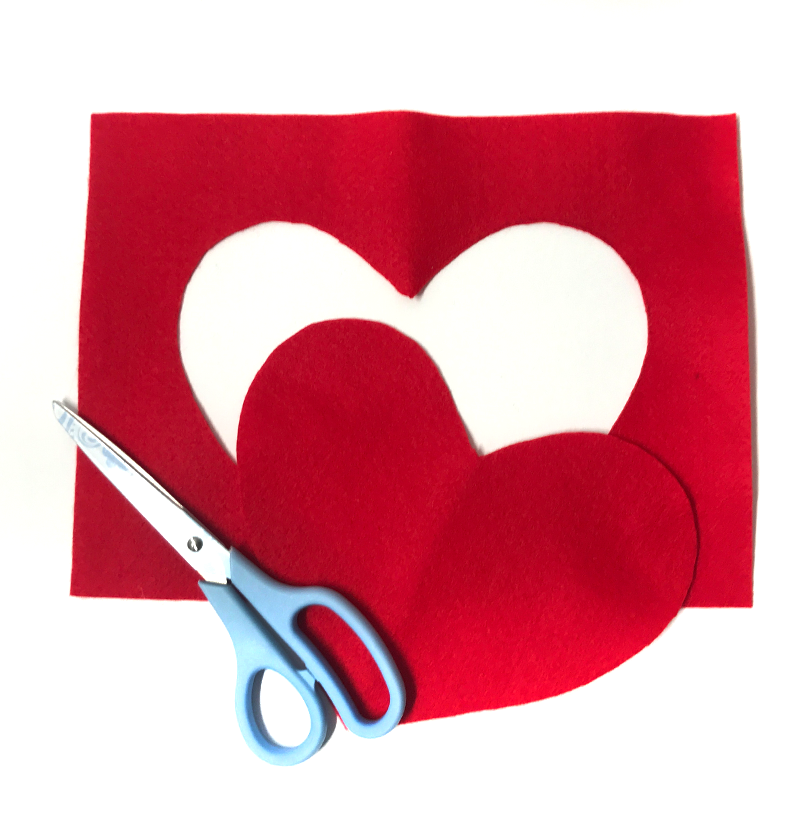 DIY Valentine's Day Gift Bag - Step 2