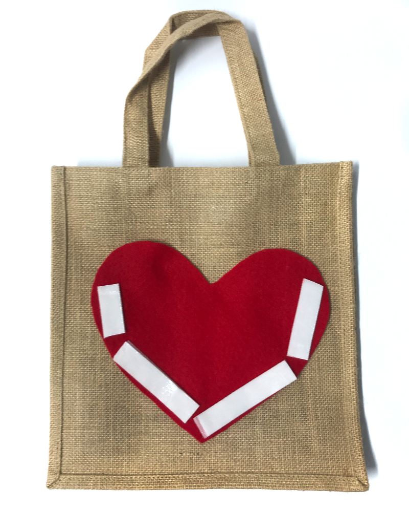 DIY Valentine's Day Gift Bag - Step 5