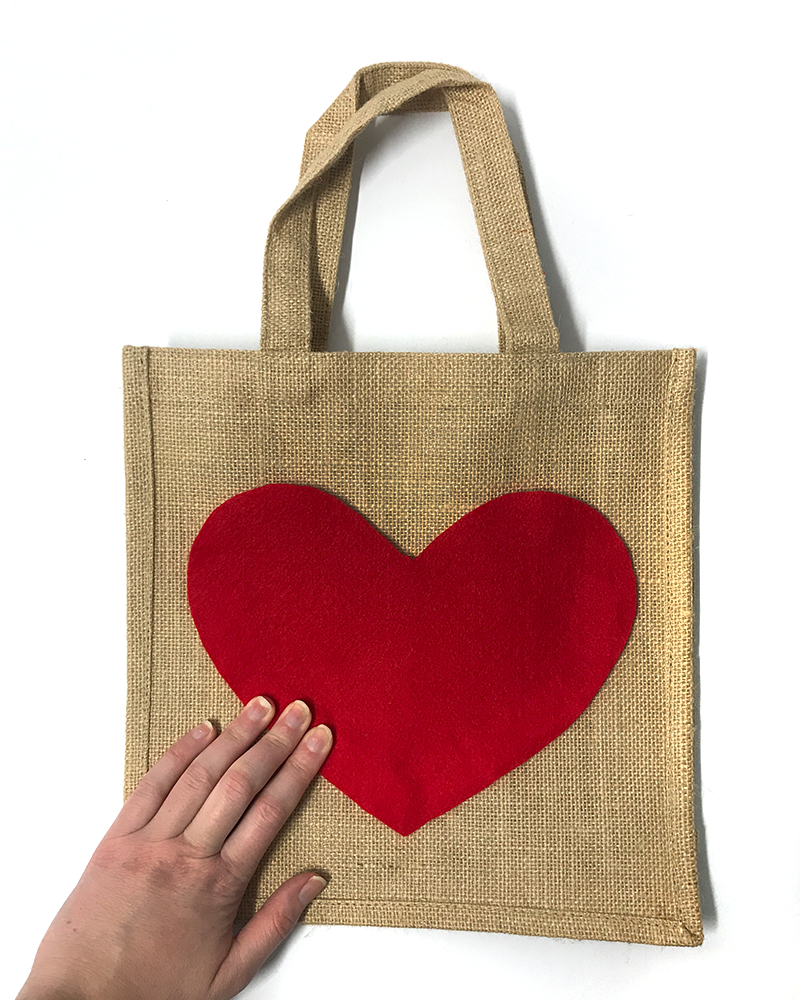 DIY Valentine's Day Gift Bag - Step 6