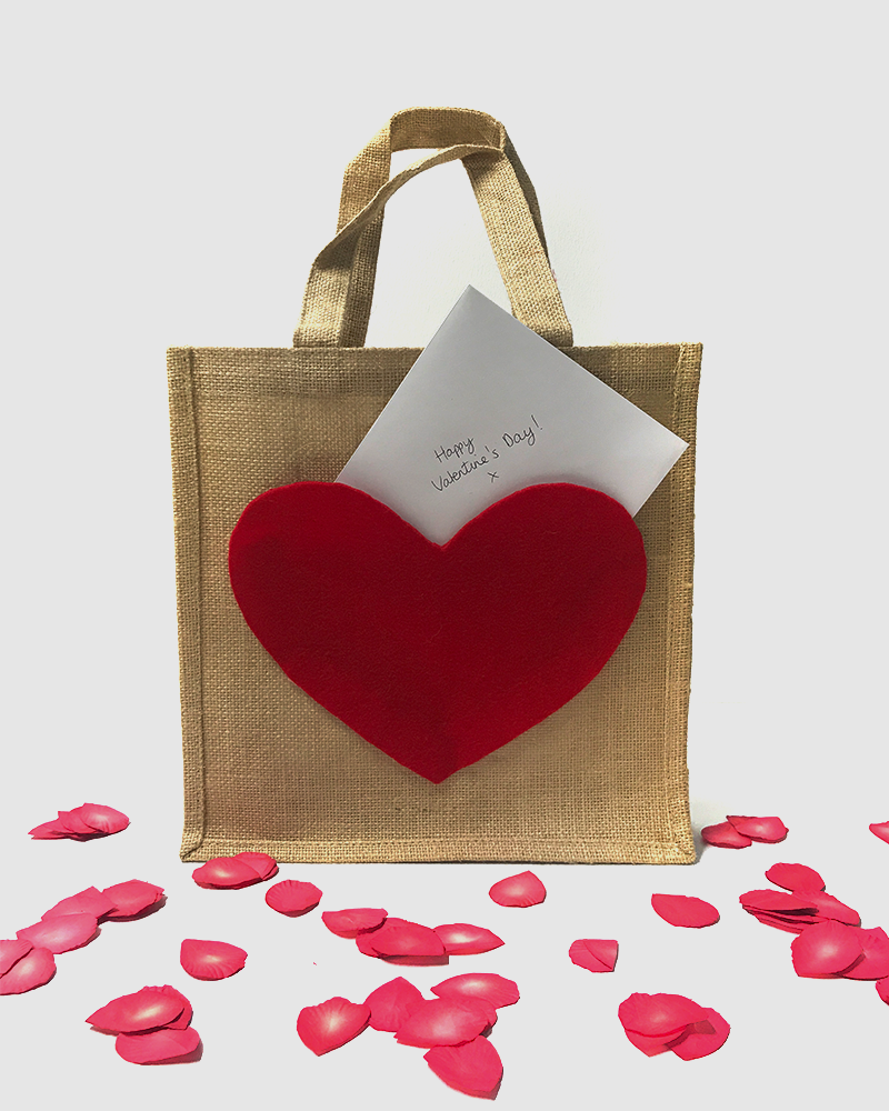 DIY Valentine's Day Gift Bag - Step 7