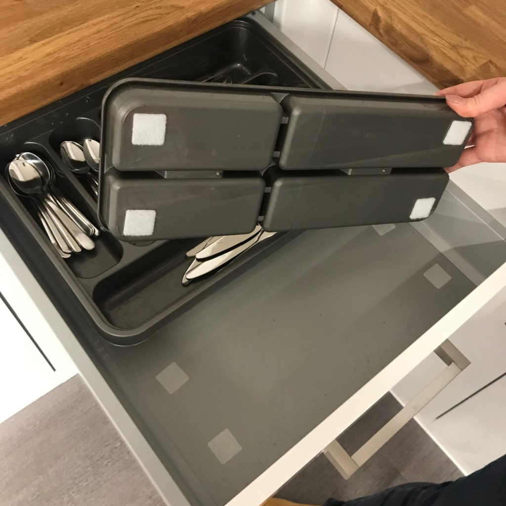 Kitchen Drawer Organisation Hack