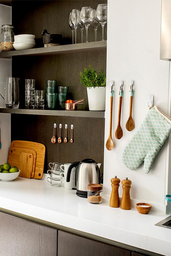 VELCRO® Brand HANGables® Adhesive Hooks Kitchen Accessories