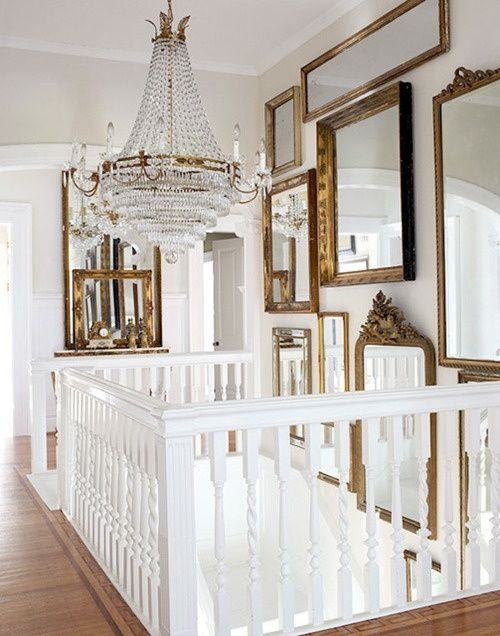 Mirror Gallery Wall 5 - HouseBeautiful.com