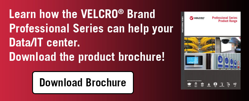 VELCRO® Brand Professional Series for data cable management