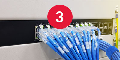 Ethernet Cable Management for Control Systems