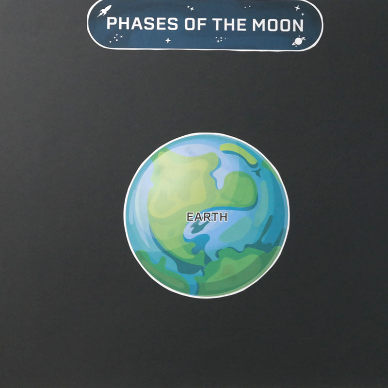 Learn the Phases of the Moon - Classroom Activity Idea 1