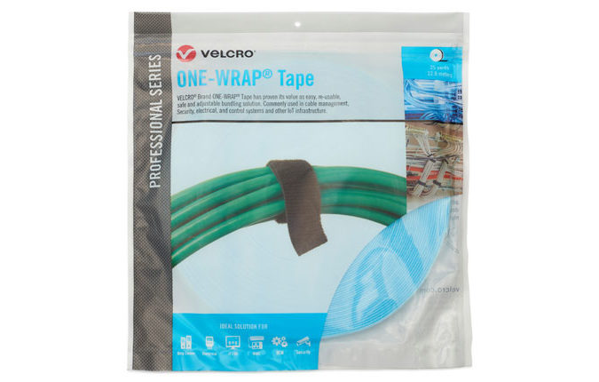 General Use ONE-WRAP® Tape - Reusable Cable Ties