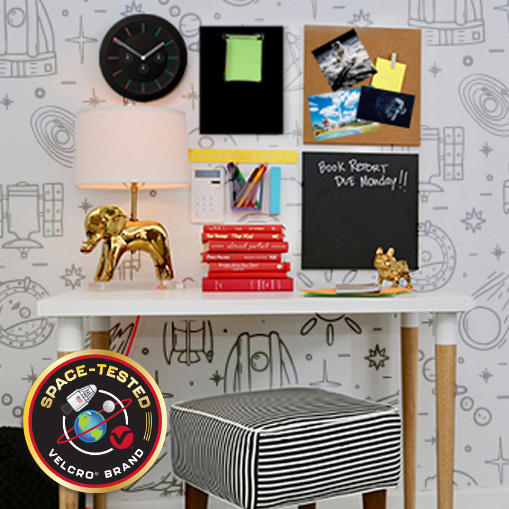 Homework Station Inspiration Brought to you be VELCRO® Brand