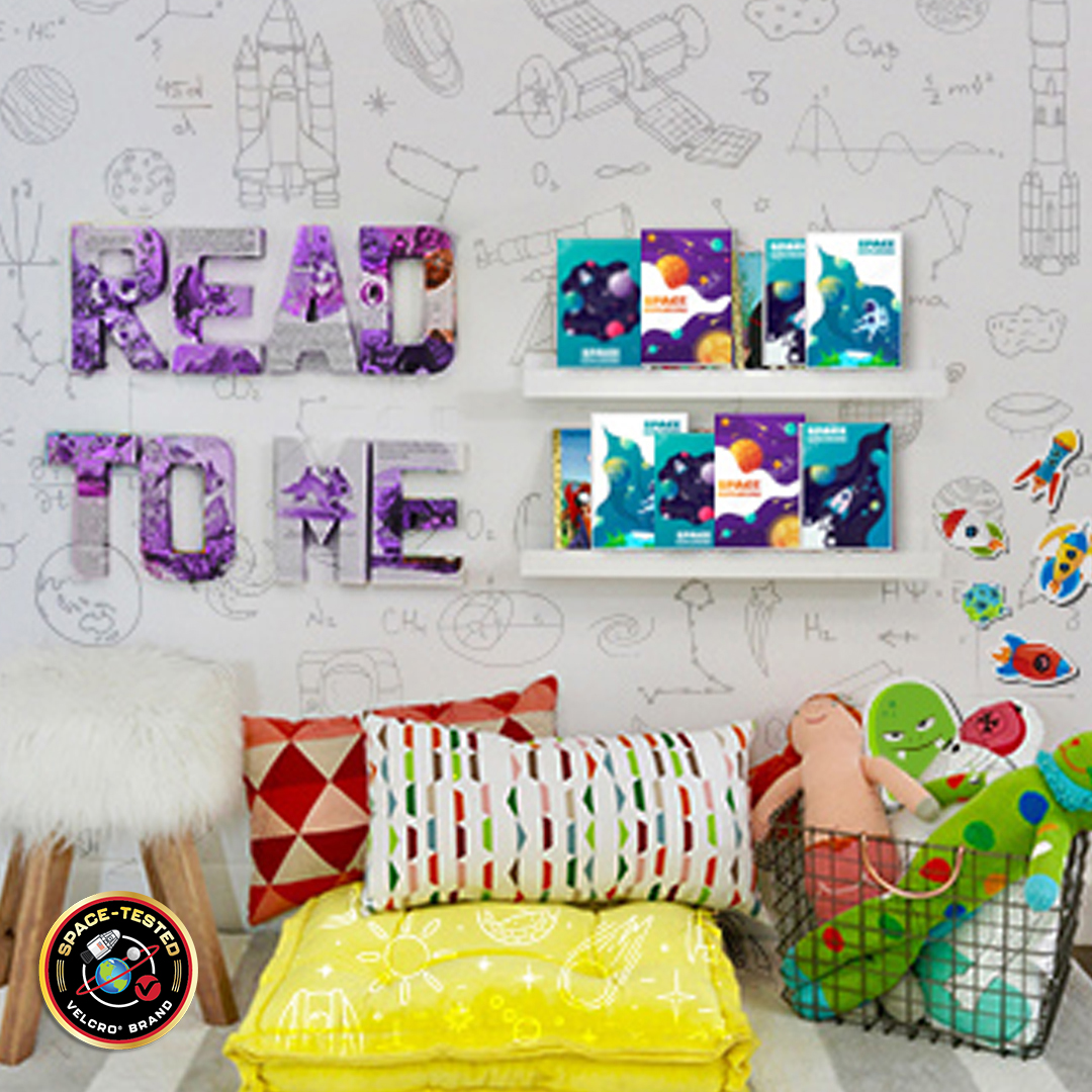 Reading Corner with Space Tested Badge