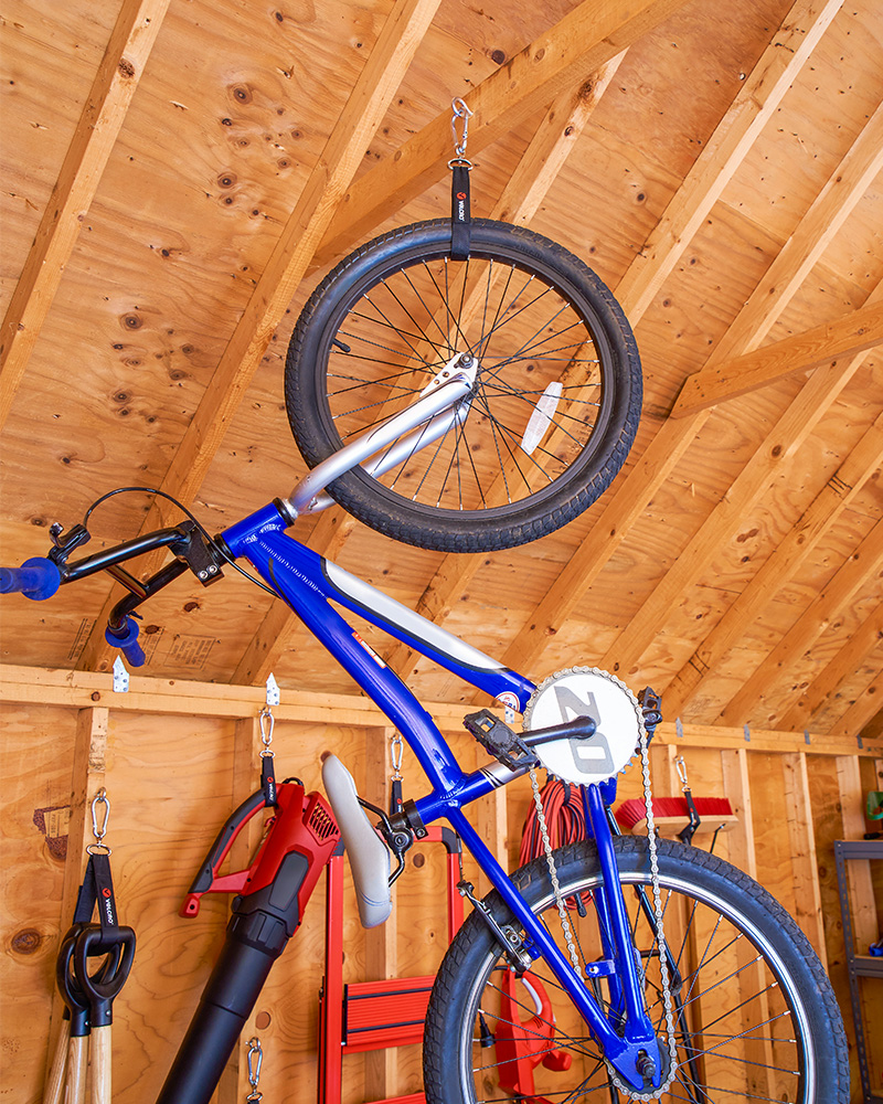 Bike to organize your shed