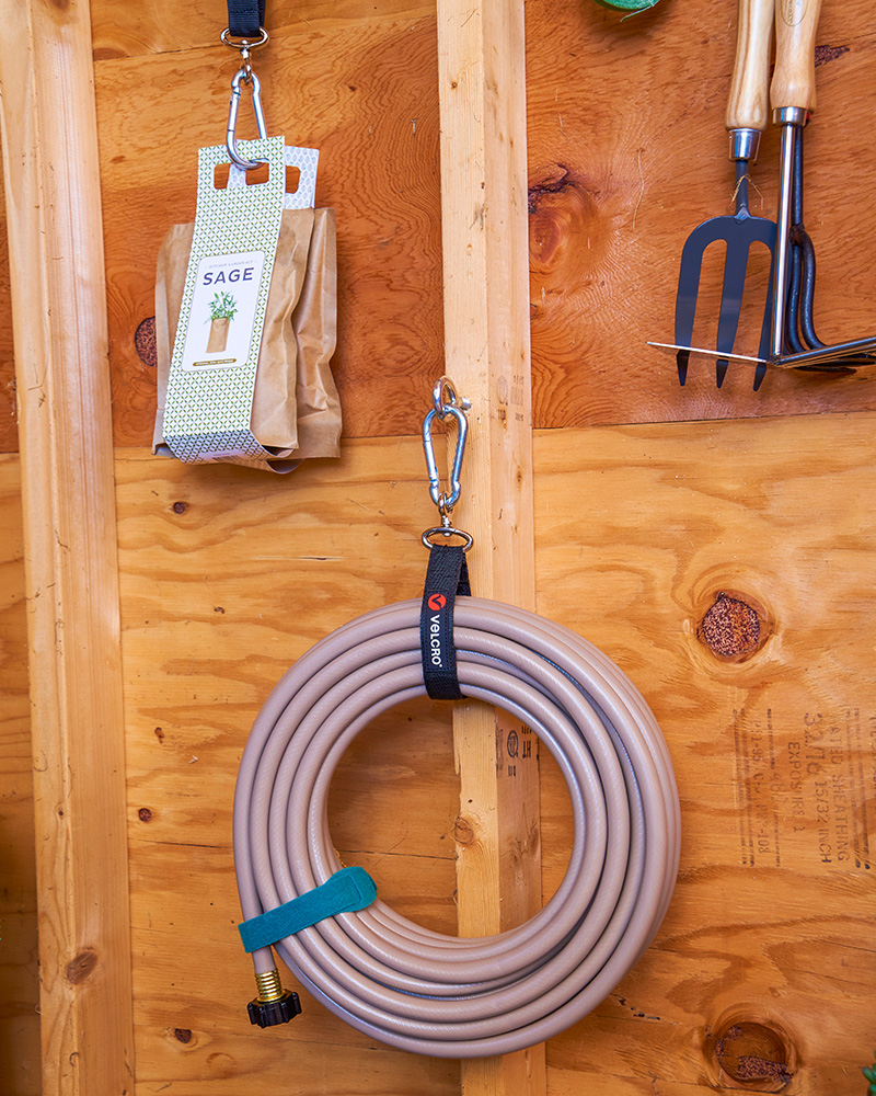Hose to organize your shed