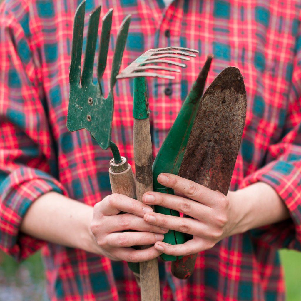 Plastic Free Gardening Tools