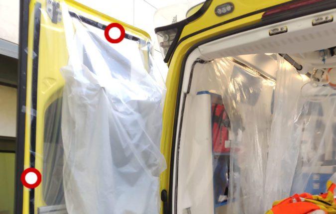Ambulance Curtain Fasteners