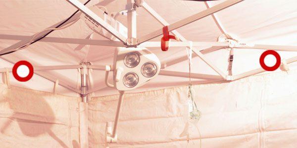 Field Hospital Tent Fasteners