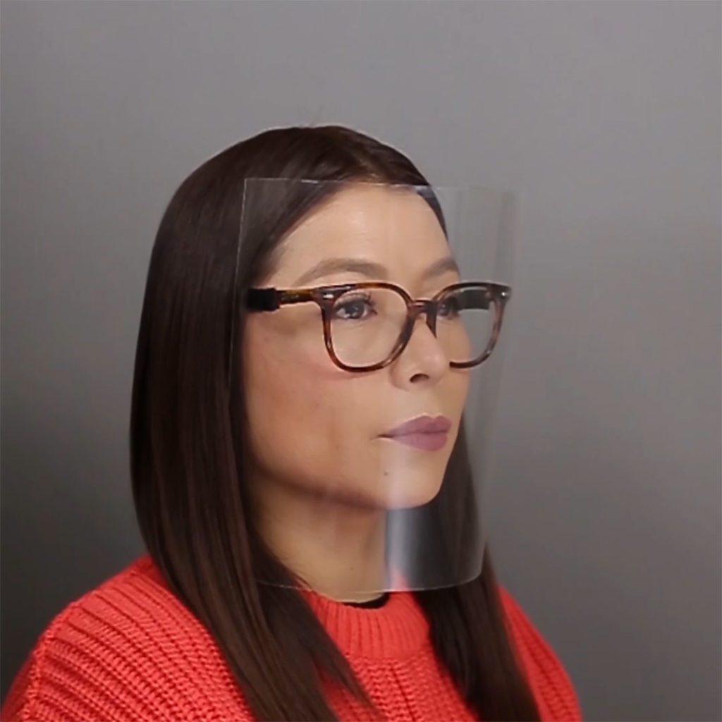 DIY Face Shield Tutorial