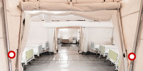 Field Hospital Tent Structures